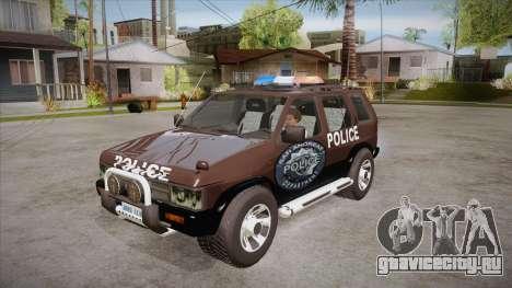 Nissan Terrano RB26DETT Police для GTA San Andreas