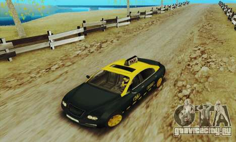 Mercenaries 2 Такси для GTA San Andreas вид слева