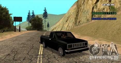NEW Bobcat для GTA San Andreas вид слева