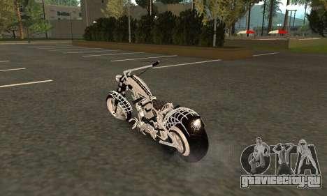 Black Widow для GTA San Andreas вид сзади слева