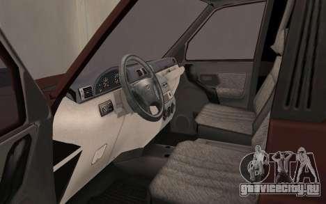 УАЗ Патриот для GTA San Andreas вид сзади