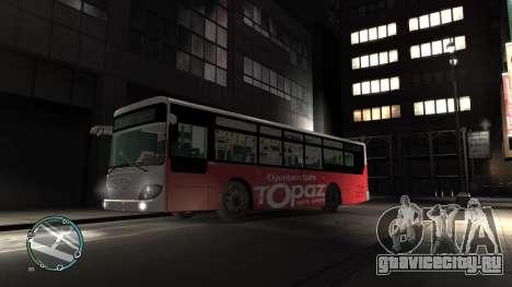 Daewoo BC211MA Baku для GTA 4 вид слева