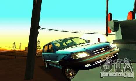 ВАЗ 21236 Шевроле Нива для GTA San Andreas вид сбоку