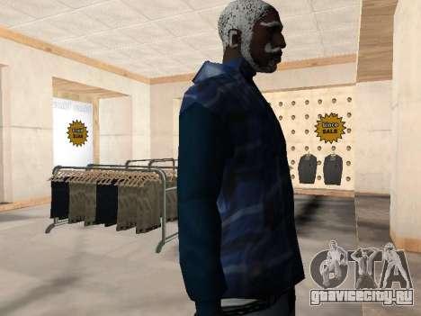 Новая куртка CJ для GTA San Andreas третий скриншот