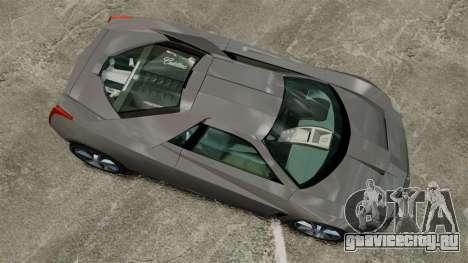 Cadillac Cien XV12 [EPM] для GTA 4 вид справа