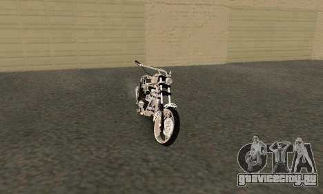 Black Widow для GTA San Andreas вид слева