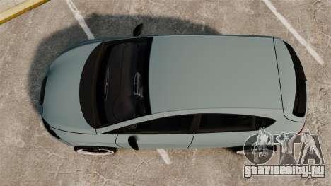 Seat Leon Gtaciyiz для GTA 4 вид справа