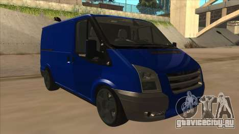 Ford Transit Swb 2011 Stance для GTA San Andreas вид слева