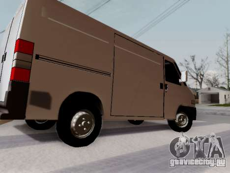 Fiat Ducato Cargo для GTA San Andreas вид слева