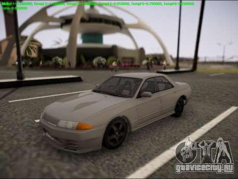Nissan Skyline R32 для GTA San Andreas вид сбоку