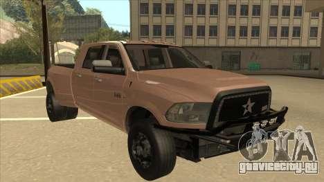 Dodge Ram [Johan] для GTA San Andreas вид слева