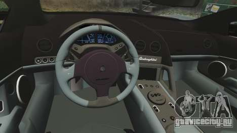 Lamborghini Reventon Roadster 2009 для GTA 4 вид сбоку