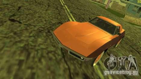 Chevrolet Corvette C3 Tuning для GTA Vice City вид сбоку