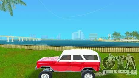 УАЗ 3151 для GTA Vice City вид справа