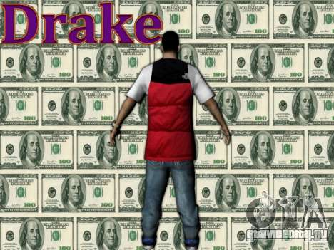 Drake для GTA San Andreas второй скриншот