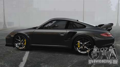 Porsche 997 GT2 2012 Simple version для GTA 4 вид слева