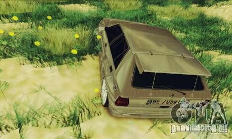 Lancia Delta HF Integrale для GTA San Andreas вид сзади
