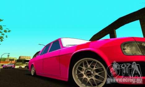 ГАЗ 31029 Волга БПАН для GTA San Andreas вид сзади