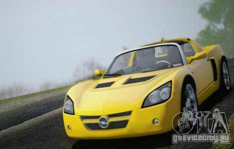Opel Speedster Turbo 2004 для GTA San Andreas двигатель