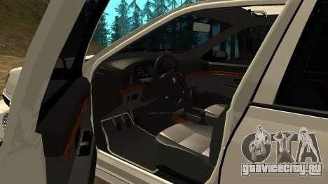 Peugeot 406 Grizzli для GTA San Andreas вид сбоку