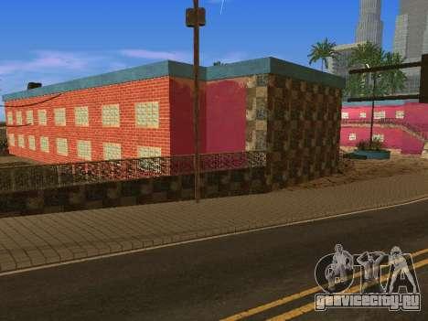 Новые текстуры отеля Jefferson для GTA San Andreas десятый скриншот