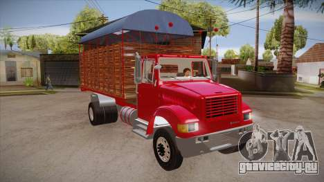 International 4700 для GTA San Andreas вид сзади