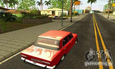 ВАЗ 2101 БПАН для GTA San Andreas вид снизу