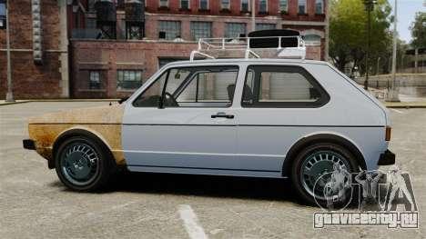 Volkswagen Golf MK1 GTI Rat Style для GTA 4 вид слева