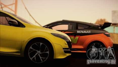 Renault Megane RS Tunable для GTA San Andreas вид слева