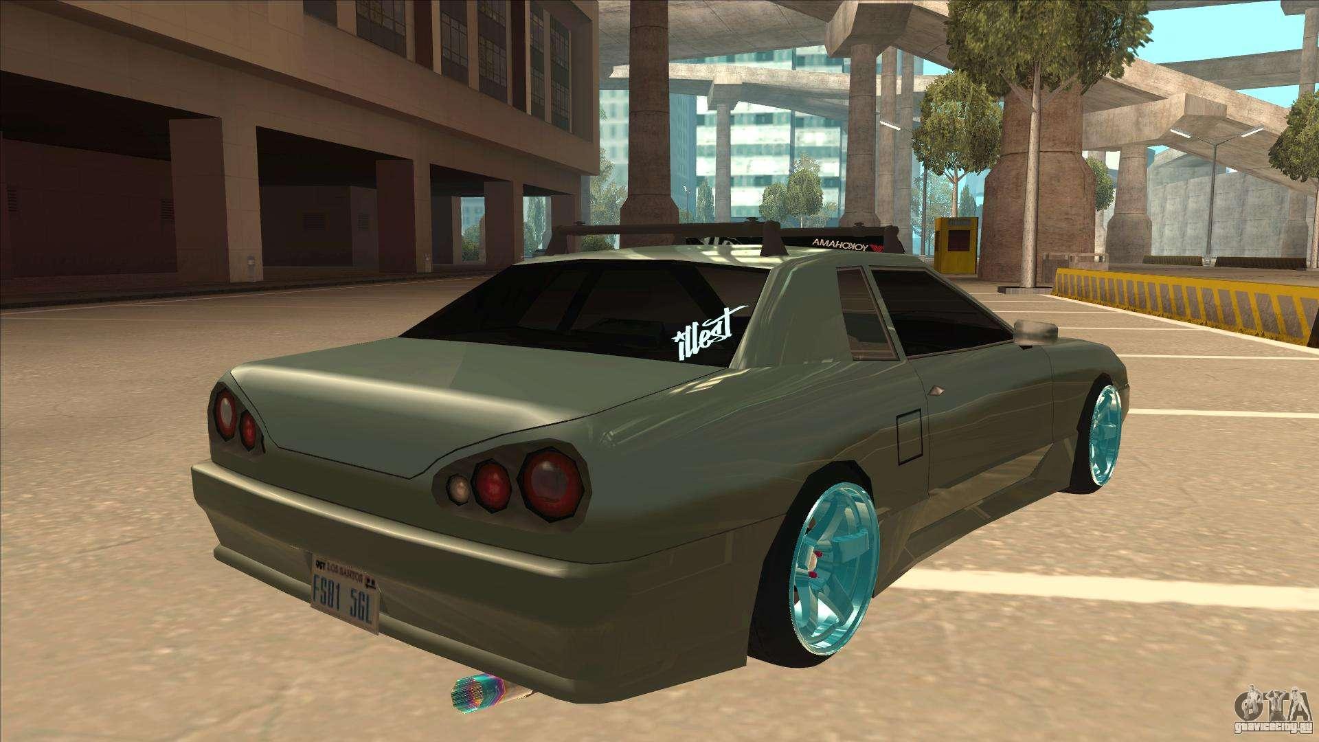 Elegy Hellaflush для GTA San Andreas