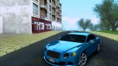 Bentley Continental GT Final 2011 для GTA San Andreas
