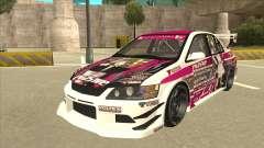 Mitsubishi Lancer EVO IX - Itasha для GTA San Andreas