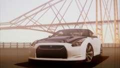 Nissan GT-R R35 Spec V 2010 для GTA San Andreas
