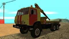 Камаз 43114 Эвакуатор для GTA San Andreas