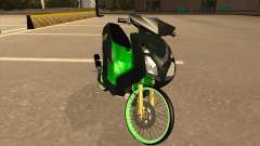 Yamaha Mio Soul 2 Monster Energy