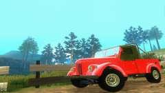 ГАЗ 69 Пикап для GTA San Andreas