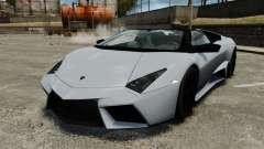Lamborghini Reventon Roadster 2009 для GTA 4