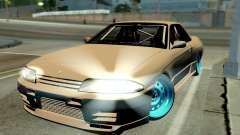 Nissan Skyline R32 Hellaflush для GTA San Andreas