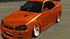 Nissan Skyline R-34