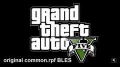 Оригинальный common.rpf BLES