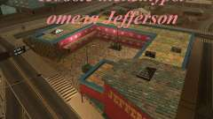 Новые текстуры отеля Jefferson для GTA San Andreas