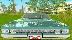 Plymouth Fury III 1969 Coupe для GTA Vice City
