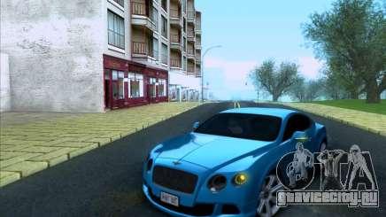 Bentley Continental GT Final 2011 для GTA San Andreas