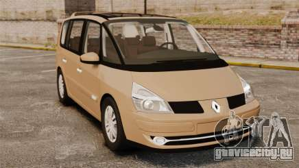 Renault Espace IV Initiale для GTA 4
