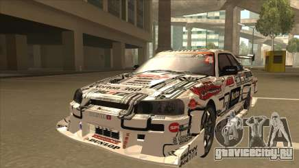 Nissan Skyline ER34 Uras GT Blitz 2009 для GTA San Andreas