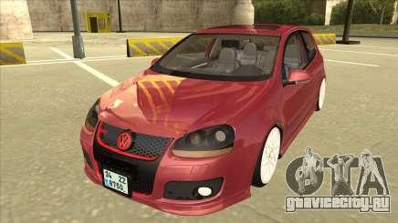 Volkswagen Golf V хэтчбек 3 дв для GTA San Andreas