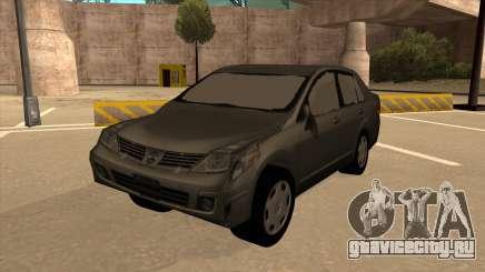 Nissan Tiida sedan для GTA San Andreas