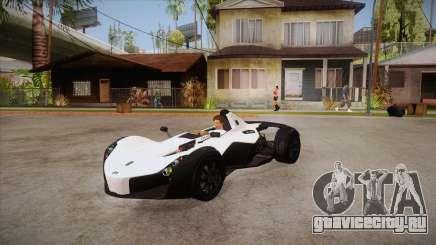BAC Mono 2011 для GTA San Andreas
