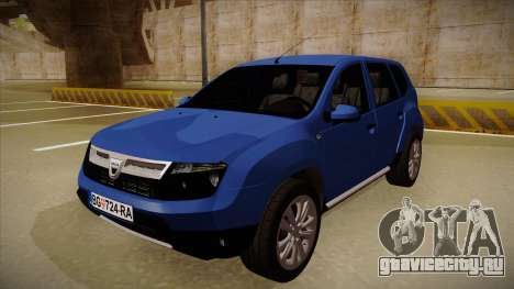 Dacia Duster SUV 4x4 для GTA San Andreas