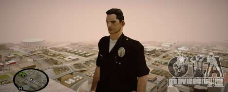 Los Angeles Police Officer для GTA San Andreas третий скриншот